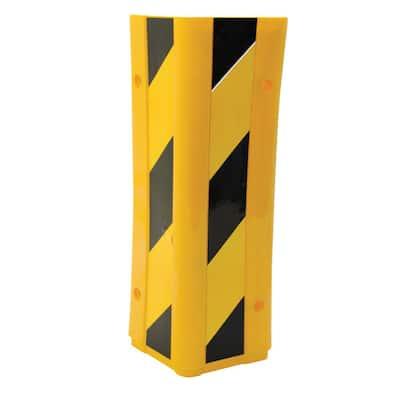 4 in. W x 4 in. L x 12.5 in. H in. PVC Corner Protector