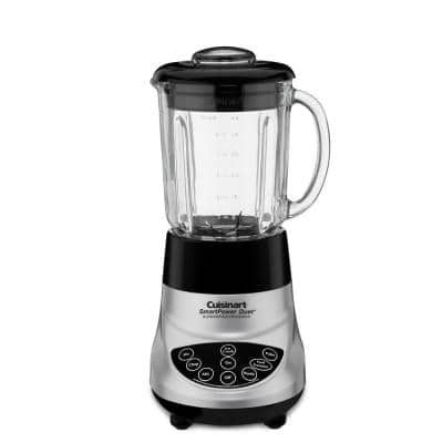 SmartPower Duet 7-Speed Die-Cast Blender with a Food Processor