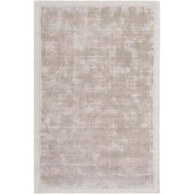 Silk Stone 8 ft. x 10 ft. Abstract Area Rug