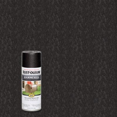12 oz. Hammered Black Protective Spray Paint