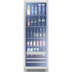 Presrv 24 in. 19-Bottle Wine and 266-Can Single Zone Full Size Beverage Cooler