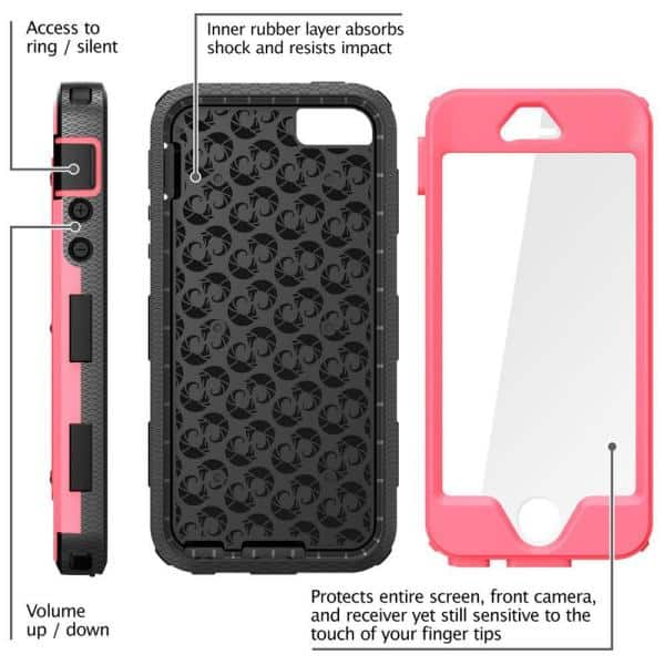 i-Blason iPhone 5S Armorbox Series Full Body Case with Screen ...