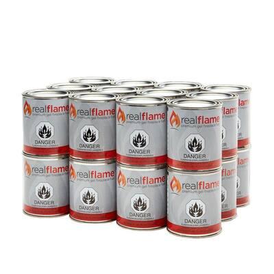 13 oz. 24 lb. Gel Fuel Cans (24-Pack)
