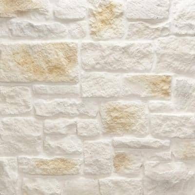 Austin Stone Bisque Flats 150 sq. ft. Bulk Pallet Manufactured Stone