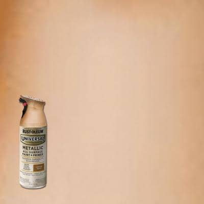 11 oz. All Surface Metallic Copper Rose Spray Paint and Primer in One