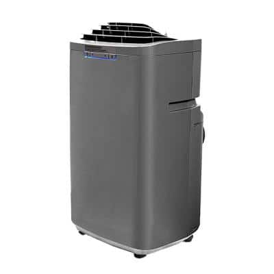 Eco-Friendly 13,000 BTU Dual Hose Portable Air Conditioner with Dehumidifier
