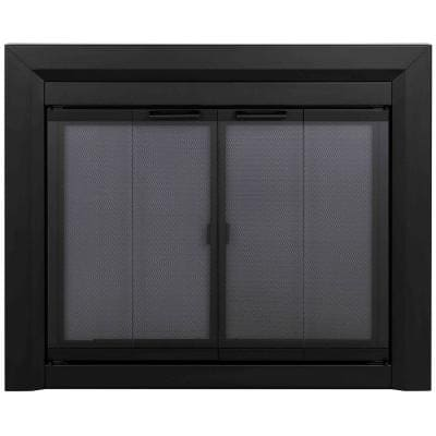 Clairmont Medium Glass Fireplace Doors