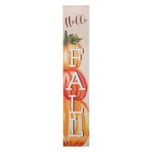 42 in. H Fall Wooden Large Porch Sign / Decor