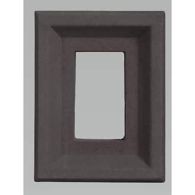10 in. x 8 in. Versetta Stone Light Box in Charcoal