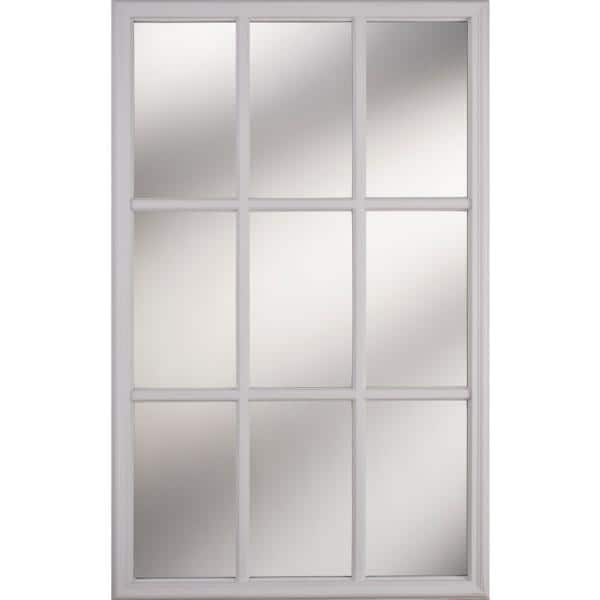 White Frame Replacement Glass Panel, Window And Door Glass Replacement