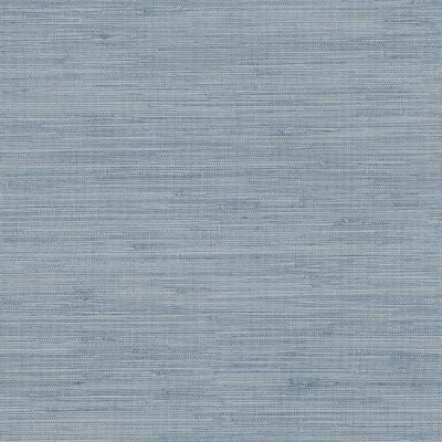 Waverly Blue Faux Grasscloth Paper Strippable Roll (Covers 56.4 sq. ft.)
