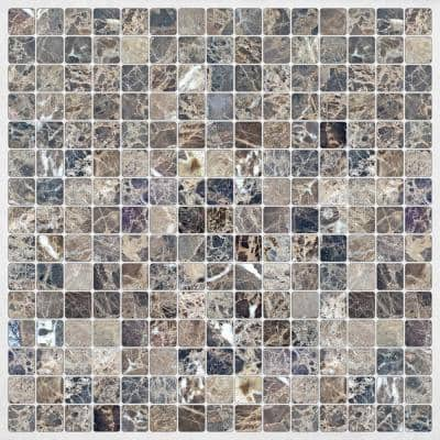 Grey Marble Peel and Stick Decal Tiles