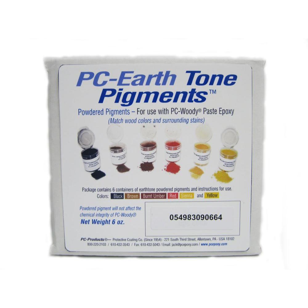 PC Earth Tone Powder Pigments