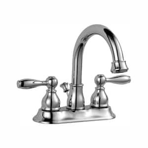 Deals on Glacier Bay Mandouri 4-in Centerset 2-Handle Bathroom Faucet
