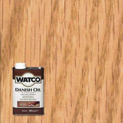 1 pt. Natural 275 VOC Danish Oil (4-Pack)