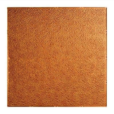 Border Fill 2 ft. x 2 ft. Antique Bronze Lay-In Vinyl Ceiling Tile (20 sq. ft.)