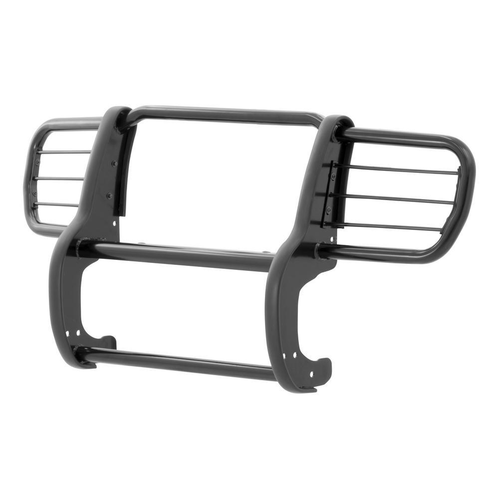 1-1/2-Inch Black Steel Grille Guard, No-Drill, Select Jeep Commander
