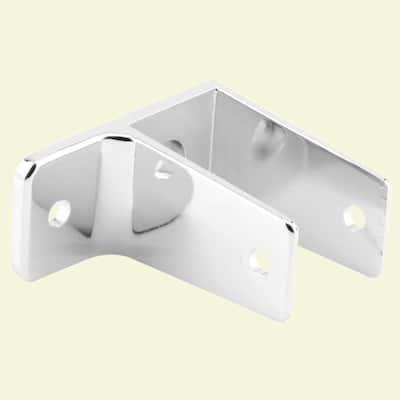 Chrome 1 Ear Wall Bracket