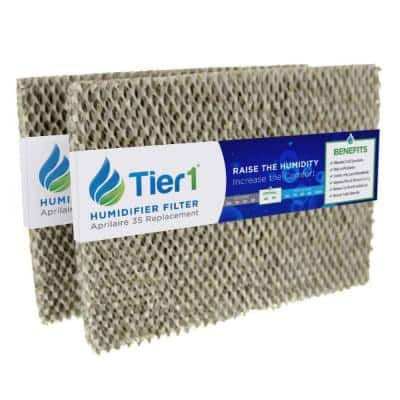 Replacement for Aprilaire Water Panel 35, fits Models 350, 360, 560, 560A, 568, 600 Humidifier Filter (2-Pack)