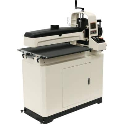 25 in./50 in. Drum Sander with Closed Stand, 115-Volt JWDS-2550