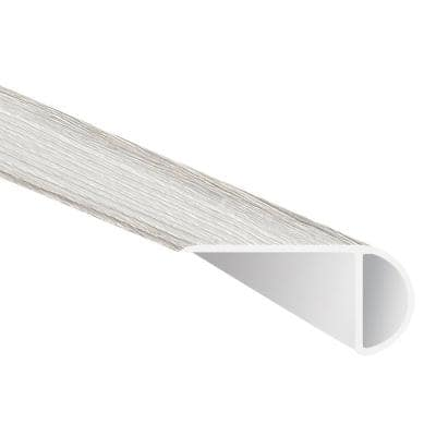 Brooks Meadow Oak 0.75 in. T x 2.33 in. W x 94 in. L Luxury Vinyl Overlapping Stair Nose Molding