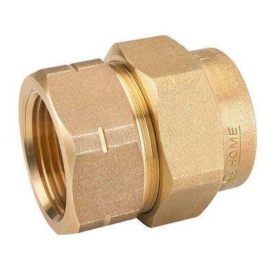 1 in. CSST x 1 in. FIPT Brass Female Adapter