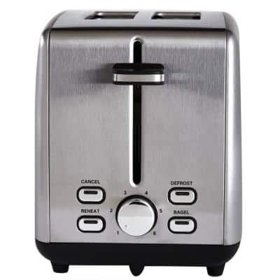 Professional Series 2-Slice Stainless Steel Wide Slot Toaster