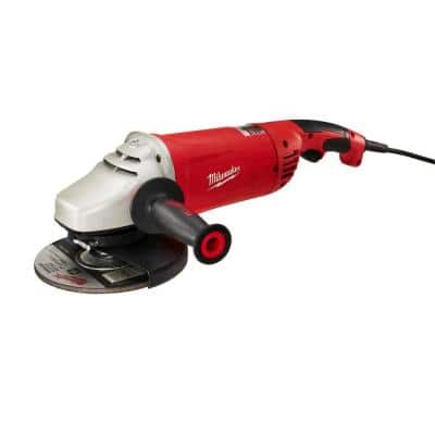 15-Amp 7/9 in. Non-Lock-On Large Angle Grinder