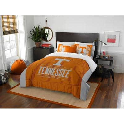 Tennessee 3-Piece Multicolored Full Comforter Set