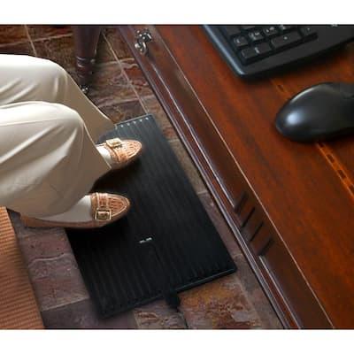 """Electric Foot Warmer Mat 14"""" X 21"""" Keep Feet Warm Office Space Heater"""