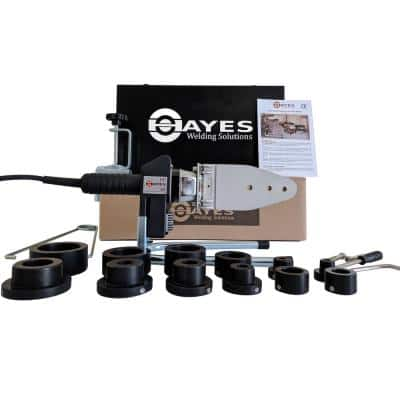Hayes Digital Socket Fusion Pipe Welder Tool Kit °F (up to 2 in.)