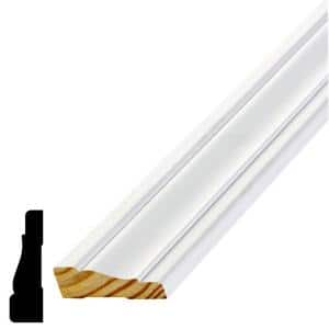 WM 356 11/16 in. x 2-1/4 in. x 84 in. Pine Primed Finger-Jointed Casing