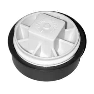 3 in. HDPE Combination Test Plug with Raised Head for Schedule 40-DWV Pipe