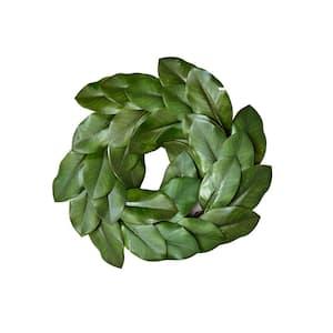 20 in. Magnolia Leaf Wreath