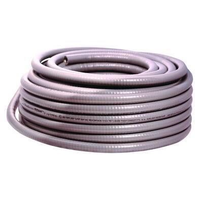 3/4 in. x 25 ft. Liquidtight Flexible Metallic Titan Steel Conduit