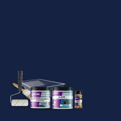 Navy All-in-One Multi-Surface Countertop Kit