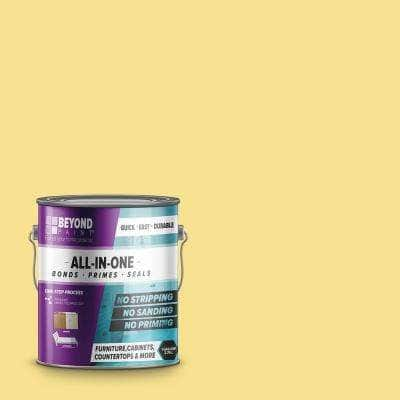 1 gal. Buttercream Furniture, Cabinets, Countertop and More Multi-Surface All-in-One Interior/Exterior Refinishing Paint