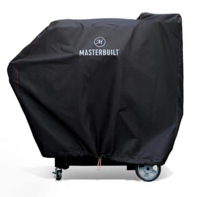 Gravity 800 Digital Charcoal Griddle Plus Grill Plus Smoker Cover in Black