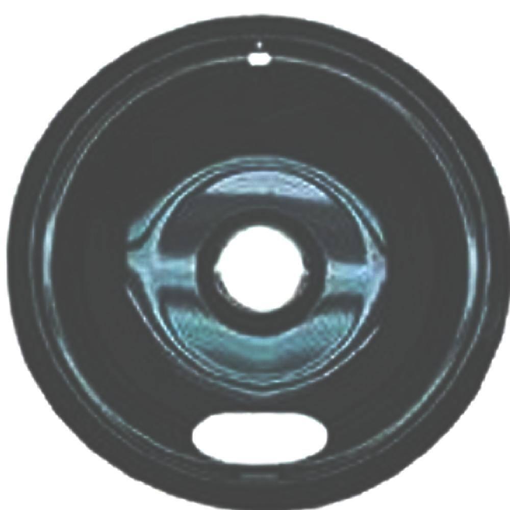 "4 8-1//4/"" Chrome Drip Pan Bowl for GE General Electric Gas Stove Range WB32X84"
