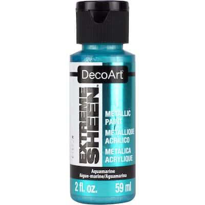 2 oz. Aquamarine Metallic Paint