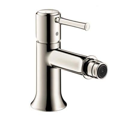 Talis C Single-Handle Bidet Faucet in Polished Nickel