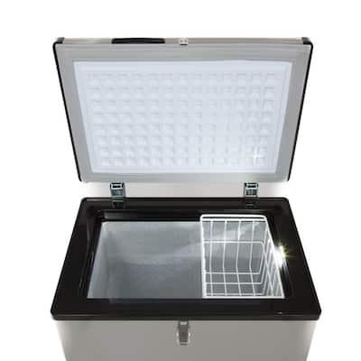 3.18 cu. ft. Portable Refrigerator/Freezer in Gray