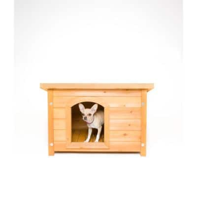 K-9 Kamp Wooden Dog House
