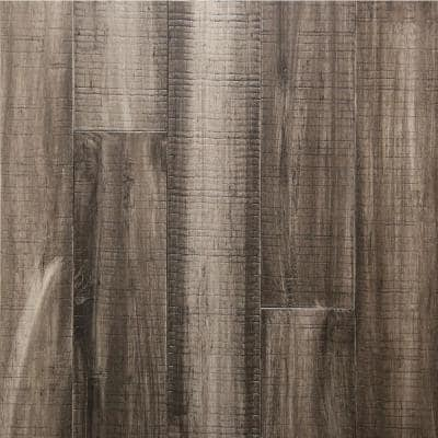 Charcoal .33 in. Thick x 5.12 in. Wide x 36.22 in. Length Engineered Rigid Core Bamboo Flooring (10.3 sq. ft. / case)