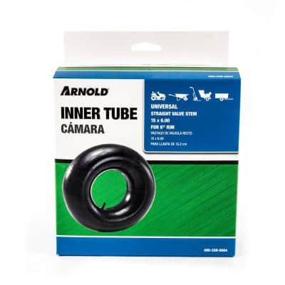 Replacement Inner Tube for 15 x 6 Tractor Tire with 6 in. Rim