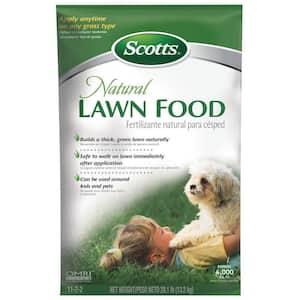 29 lbs. Dry Natural Lawn Food
