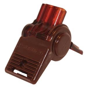 Brown Waterproof Wire Connector (10 Pack)