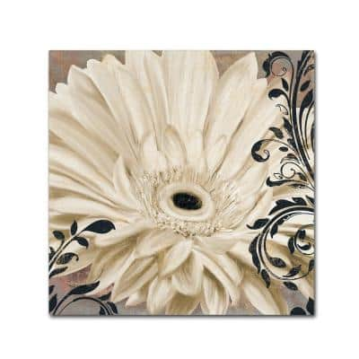 """35 in. x 35 in. """"Winter White I"""" by Color Bakery Printed Canvas Wall Art"""