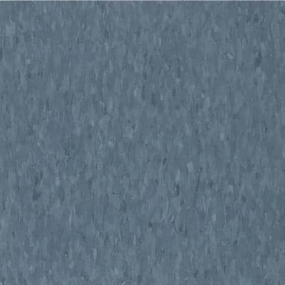 Imperial Texture VCT 12 in. x 12 in. Grayed Blue Limestone Standard Excelon Commercial Vinyl Tile (45 sq. ft. / case)