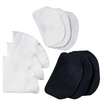 F6-12 Black and White Deep Fryer Replacement Filter (Set of 12)